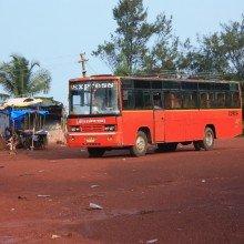 автобус в Гоа