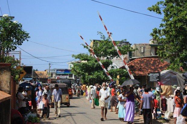 воскресный рынок, Хиккадува, Шри-Ланка