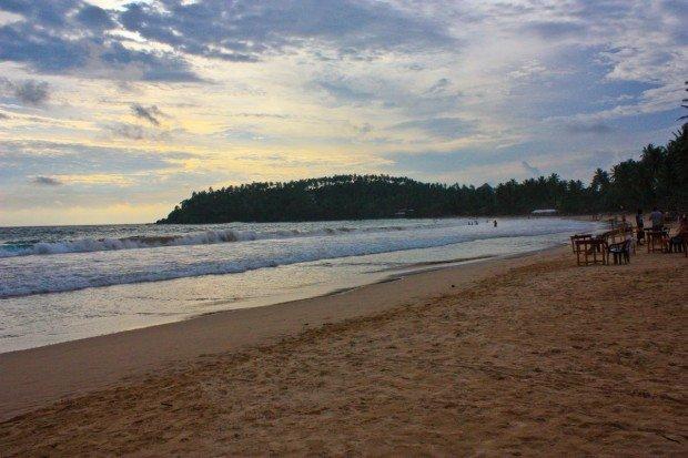 Пляж Мелисса на Шри-Ланке