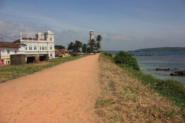 Шри-Ланка, форт, Галле, fort, galle, мечеть, Meeran Jumma Mosque