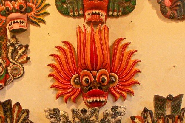 Музей масок на Шри-Ланке