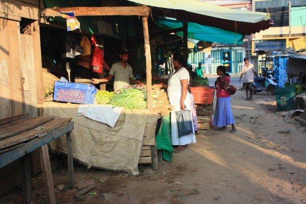 Рынок в Хиккадуве