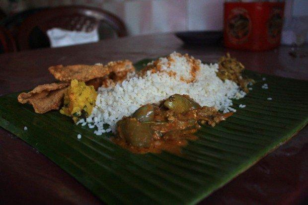 Еда в Канди на Шри-Ланке