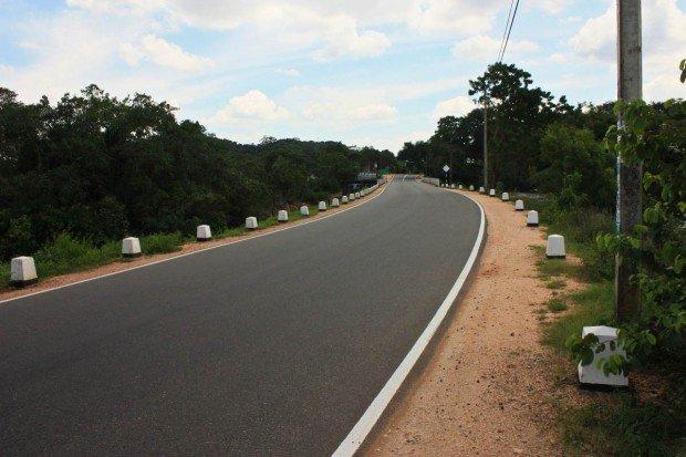 Дорога в Тринкомале